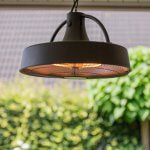 OutTrade - Sunred - Retro Sphere Hanging Halogen Terrace heating
